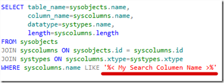 BISQL # 47 : How to find Details of Any Column in Entire Database in One Query (3/4)